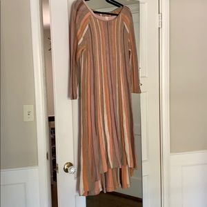Midi dress from Anthropologie